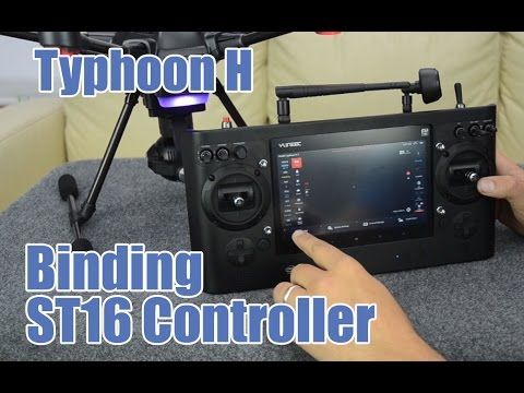 Yuneec Typhoon H Binding Linking the ST16 Controller