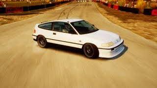 FORZA HORIZON UNICORNS - 1991 HONDA CRX SiR GAMEPLAY
