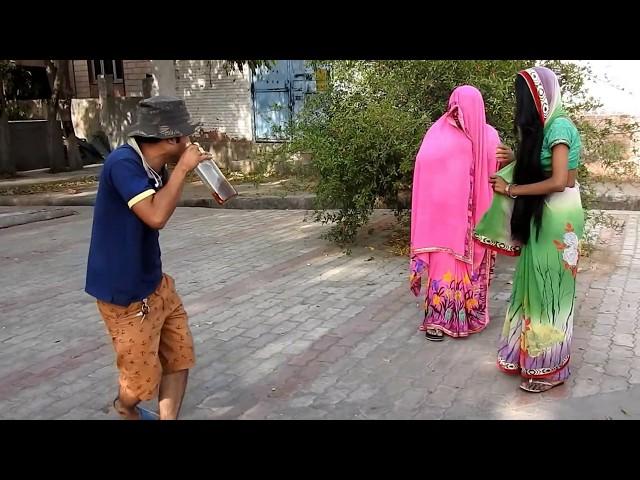 दोस्तों अकेले हँसना मना है # लिफ्ट देकर फसा # NEW COMEDY VIDEO