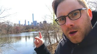 Wandern im Central Park -  New York Vlog 3