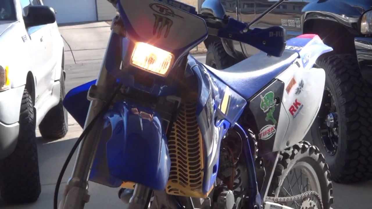 Yamaha Wr450 K Hid Install