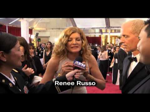 AFN at the Oscars - Troop Shout Out - Renee Russo