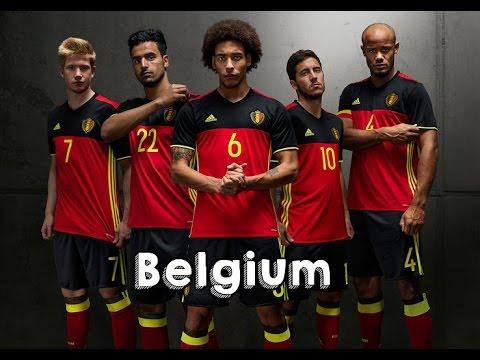 9df95aad946 EURO 2016 BELGIUM HOME   AWAY KIT - YouTube