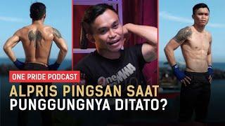 Alpris Mantako Sempat Pingsan Saat Pembuatan Tato di Punggungnya, Masa Sih?   One Pride MMA Podcast