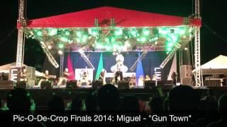 Pic-O-De-Crop Finals 2014 Miguel - Gun Town