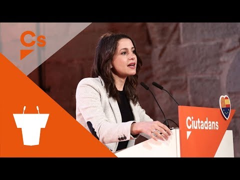 #LleidaNaranja. Acto de campaña en Lleida con Inés Arrimadas y Jorge Soler
