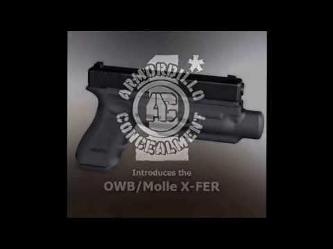 Armordillo Concealment OWB/Molle X-Fer