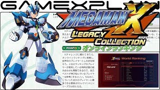 mega man x collection new details on x challenge new story new armor difficulty select