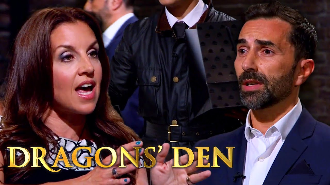 Michelin Star Delivery Service COMPLETELY Derailed by Sarah Willingham | Dragons' Den