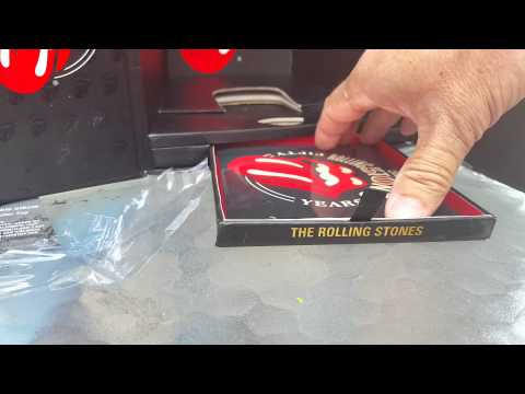 Crystal Head Rolling Stones 50th unboxing