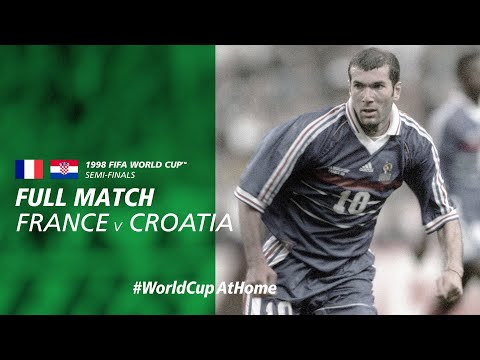 #WorldCupAtHome | France V Croatia (France 1998)