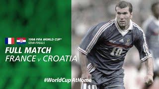 WorldCupAtHome France v Croatia France 1998