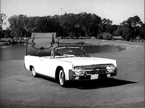 1961 lincoln continental commercial youtube. Black Bedroom Furniture Sets. Home Design Ideas