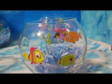 Fish Bowl Toss Carnival Game
