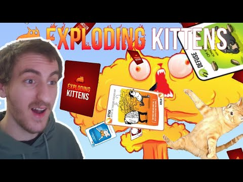 This game gets INTENSE! | Exploding Kittens in TabletopSimulator |