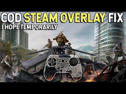 Call Of Duty: Modern Warfare - Steam Controller Overlay Fix