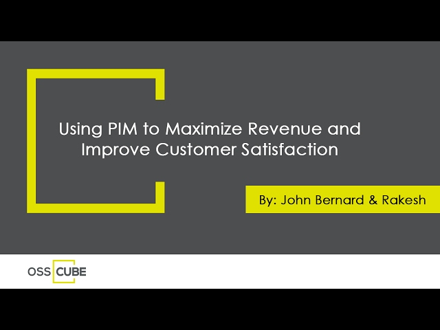 Using PIM to Maximize Revenue and Improve Customer Satisfaction - YouTube