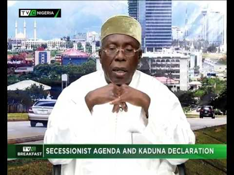 Minister of Agriculture Audu Ogbeh speaks on secessionist agenda and Kaduna Declaration
