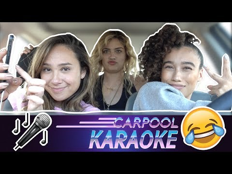 CARPOOL KARAOKE WITH MY ROOMMATES ft. FRANNY ARRIETA & SOLE