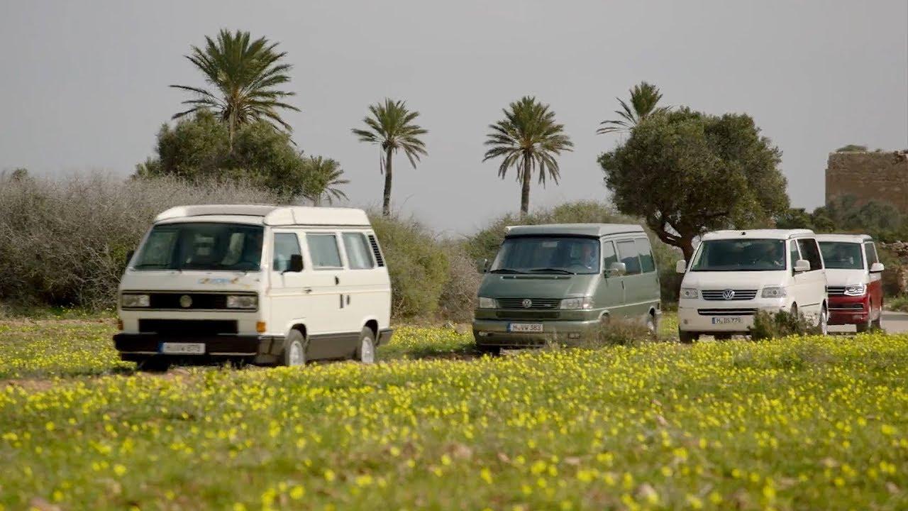 Volkswagen California T3, T4, T5 & T6