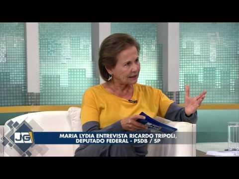 Maria Lydia entrevista Ricardo Tripoli, deputado federal – PSDB/SP