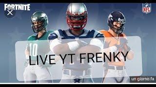 LIVE SU FORTNITE : NUOVE SKIN NFL EN ARRIVO! (SINGOLO de 42 W)