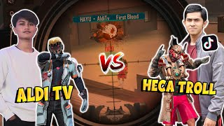 ALDI TV VS HECA TROLL !! BY ONE DOUBLE AWM !