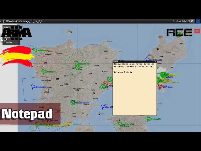Arma 3 | Notepad | ACE 3  3.13.1  | 11thMEU