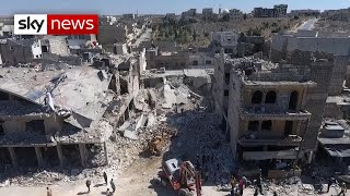 Full report: Russian jets 'bombed civilian areas in Syria'