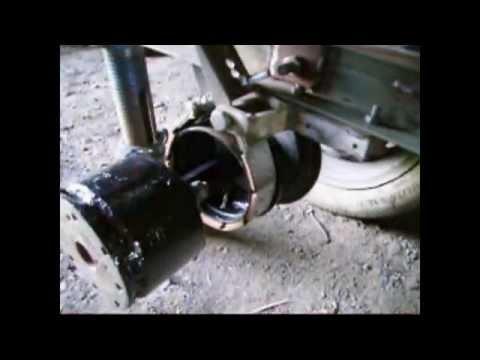 Минитрактор с тяжелого мотоблока своими руками