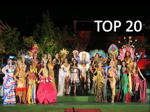 TOP 20 National Costume @ MISS GRAND INTERNATIONAL 2015  #missgrandinternational #beauty