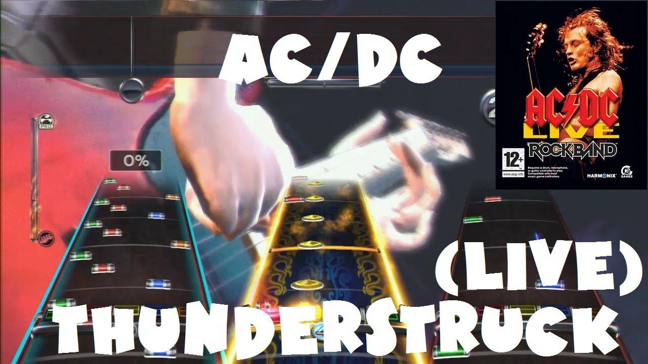 AC/DC - Thunderstruck (Live) - AC/DC Live: Rock Band Track Pack ...