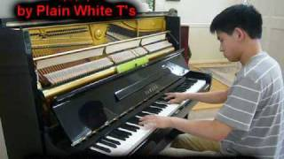 Video 1, 2, 3, 4 - Plain White T's (Piano) download MP3, 3GP, MP4, WEBM, AVI, FLV Desember 2017