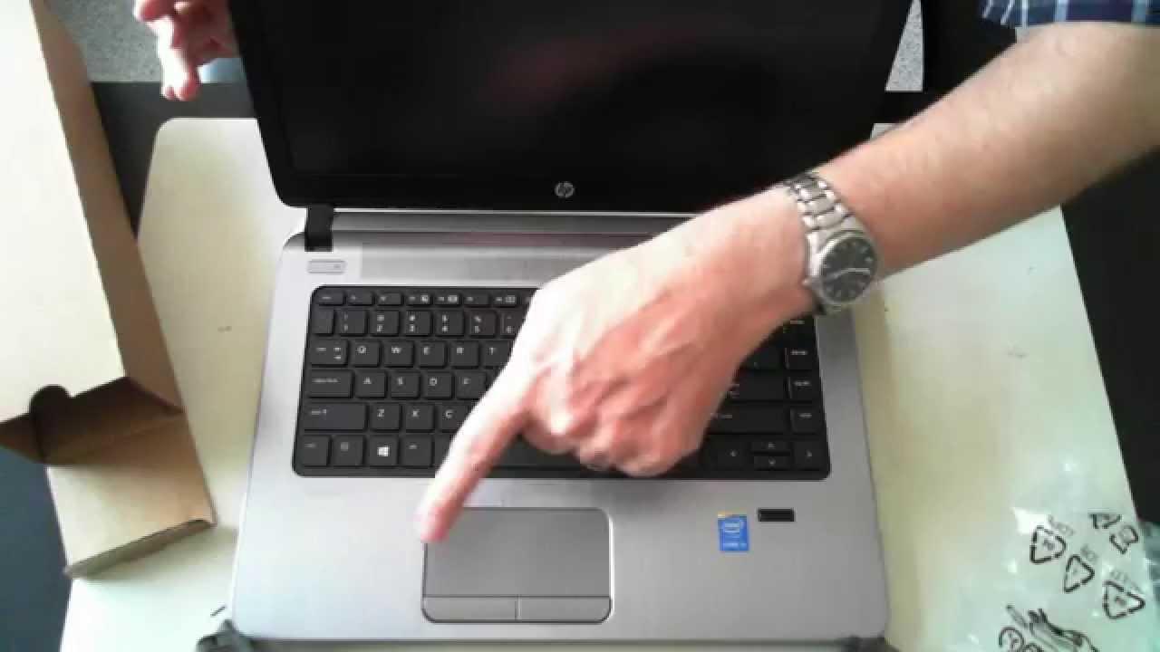 HP Probook 440 G2 Unboxing - YouTube