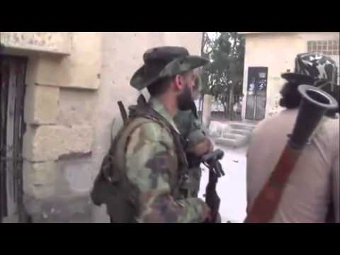 General Issam Zahreddine with Syrian Forces Fighting ISIS in Hasakah