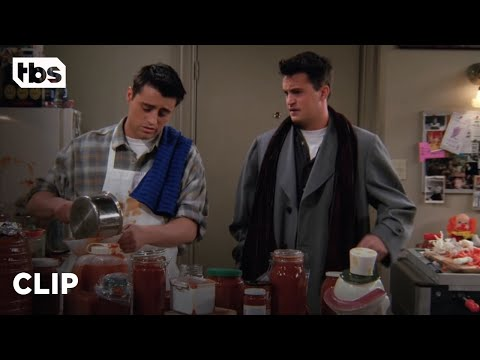 Friends: Joey Takes Extreme Measure To Get Cast (Season 2 Clip) | TBS