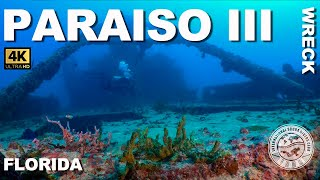 #Wreck Diving: Paraiso III (Miami, Florida)