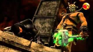 Modo História de Mortal Kombat com legendas em português