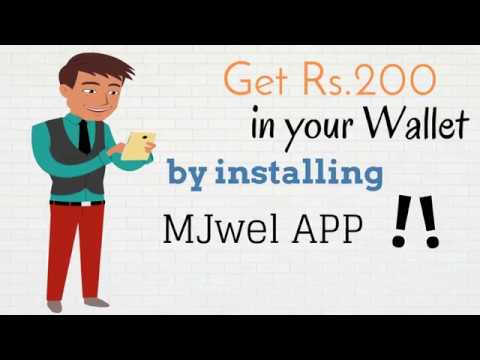 Get Rs.200/-  In Your Wallet By Installing MJwel App | Buy Latest Unique Fashion Jewellery Online |