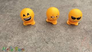 Crush emoji, ferrari y tanques en coche!