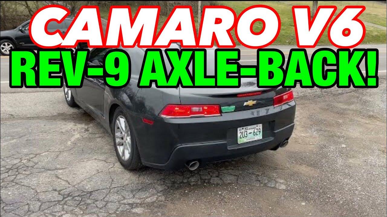 2015 Chevy Camaro 3.6L V6 DUAL EXHAUST w/ REV-9 AXLE-BACK KIT!