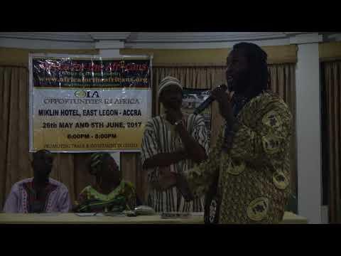 Q&A Dr. Ọbádélé Kambon - Ghana Repatriation Conf June 5, 2017 (Plans for Learning African Langua
