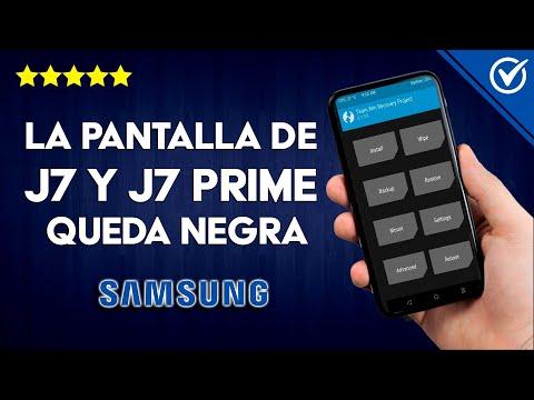 ¿Por qué la Pantalla de mi Samsung J7 y J7 Prime Queda Negra? - Solución