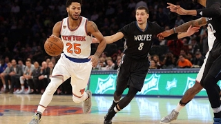 TRADE RUMORS: Derrick Rose from the New York Knicks to the T-Wolves?!?!