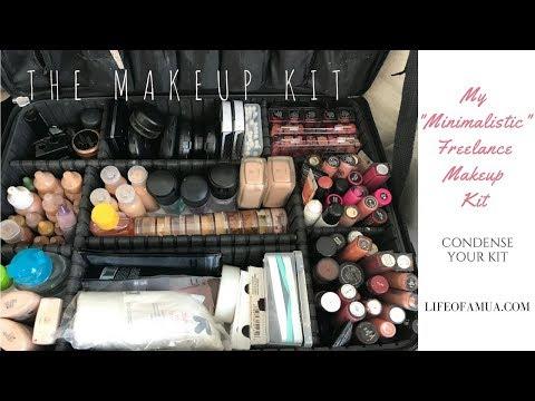 My Freelance Makeup Kit | Downsize Your Makeup Kit Ideas