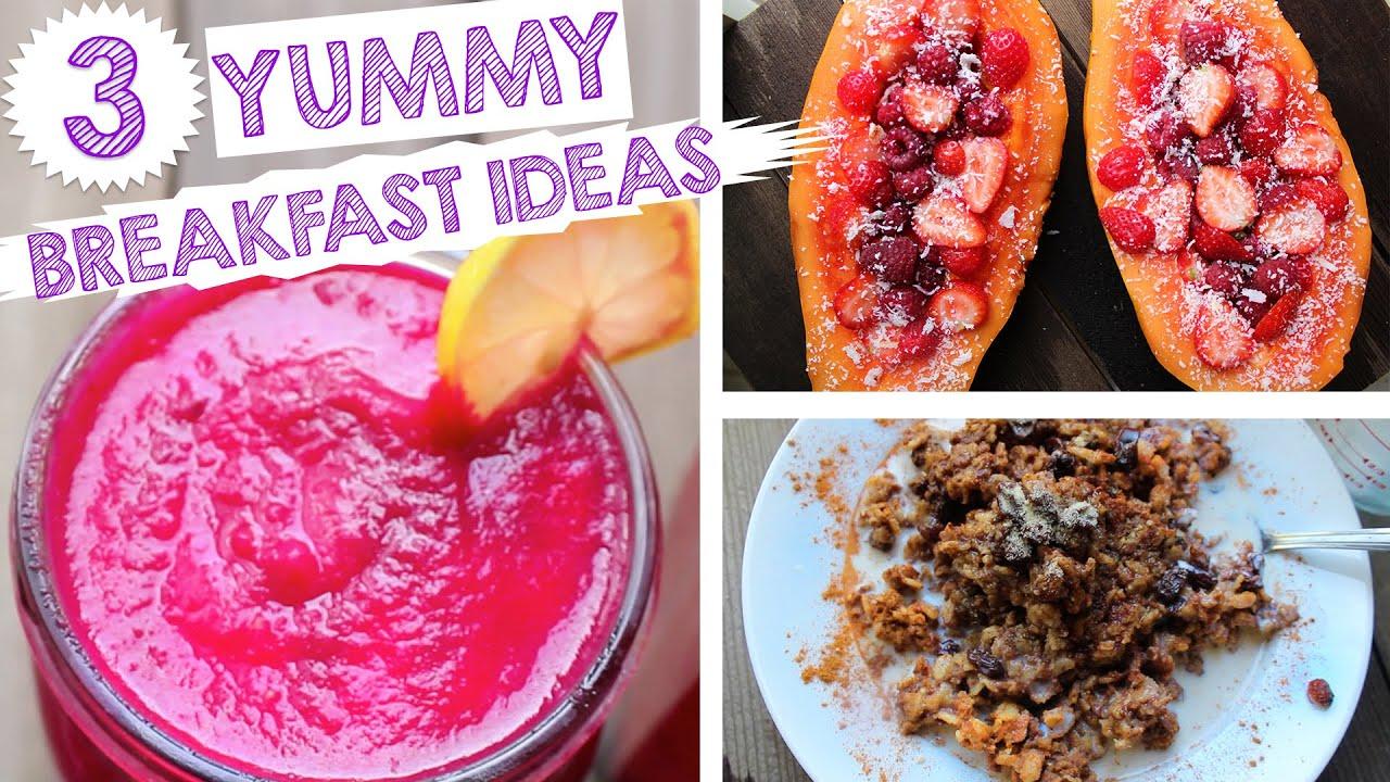3 energizing veganraw vegan breakfast ideas youtube 3 energizing veganraw vegan breakfast ideas forumfinder Image collections