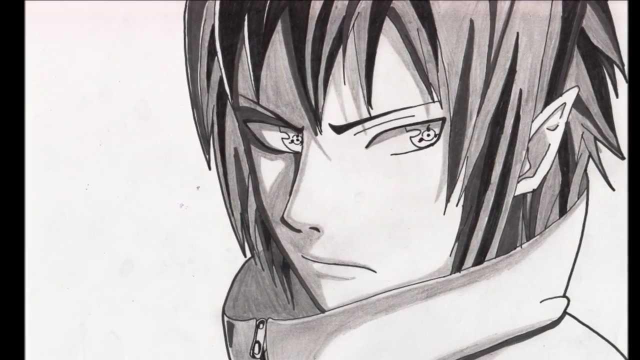 Dessin de sasuke uchiwa dans naruto youtube - Dessin de naruto akkipuden ...