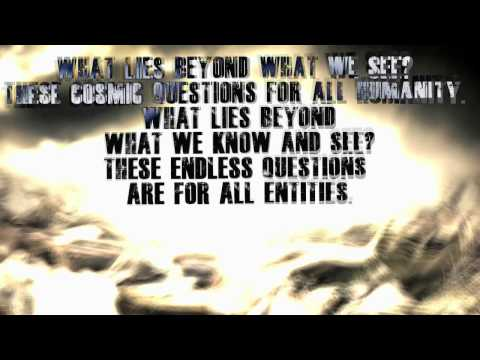 "Allegaeon ""A Cosmic Question"" (OFFICIAL) with lyrics"