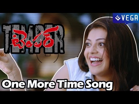 Temper Movie Song : One More Time Song : NTR ,Kajal Aggarwal : Latest Telugu Movie Song 2015