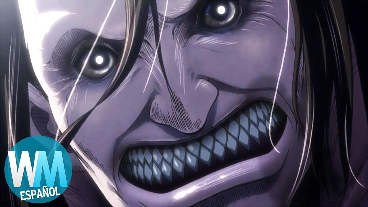 ¡Top 10 Personajes de Attack on Titan que pasaron a MODO BESTIA!